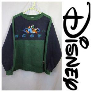 Vtg. Disney World Goofy Sweatshirt Pullover Sz L